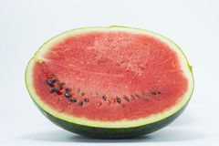 Melon on the white background. Melon isolate on the white background royalty free stock image