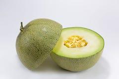 Melon On White Background. Japanis melon on white background Stock Photos