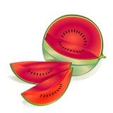 melon woda Fotografia Stock