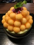 Melonbingsu royaltyfria foton