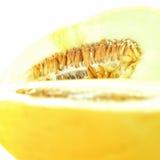 Melone color giallo canarino fresco II fotografia stock