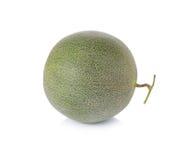 Melone dal Giappone su un fondo bianco Immagine Stock