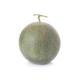 Melone dal Giappone su un fondo bianco Fotografie Stock