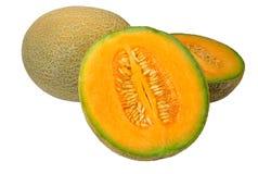 Melone del cantalupo fotografia stock libera da diritti