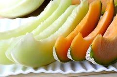 Melone del cantalupo Fotografie Stock Libere da Diritti