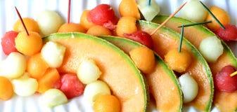 Melone del cantalupo Immagine Stock