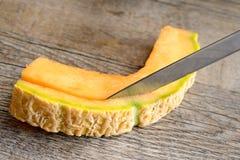 Melone di Cantalupo Fotografia Stock Libera da Diritti