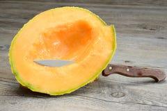 Melone di Cantalupo Fotografia Stock