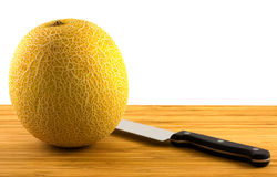 Melone di Galia Fotografie Stock Libere da Diritti