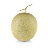 Melone di melata fresco su fondo bianco Immagine Stock Libera da Diritti