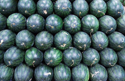 Melone im Markt Stockfoto