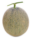Melone isolato su fondo bianco immagine stock libera da diritti