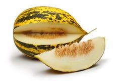 Melone-Scheibe Stockfoto
