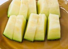Melone-Scheiben Stockbild