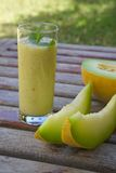 Melone Smoothie Stockbild