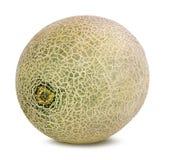 Melone su bianco Fotografia Stock Libera da Diritti