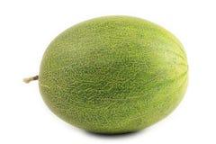 Melone su priorità bassa bianca Fotografia Stock