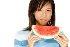 Melone sugoso Immagini Stock Libere da Diritti