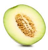 Melone verde del cantalupo Fotografia Stock Libera da Diritti