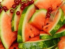 Melonebuffet Lizenzfreies Stockbild
