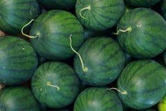 Melonehintergrund Stockfotos