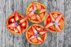 Melones de la fresa Foto de archivo libre de regalías