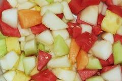 Melones frescos fotografía de archivo