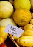 Melones orientales Imágenes de archivo libres de regalías