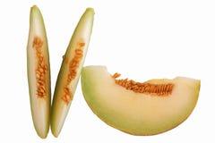 Melonescheiben stockfotos
