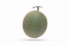 Melonfrukt som isoleras på den vita bakgrunden Royaltyfri Bild