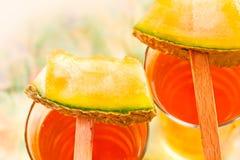 Melonfruktsaft Royaltyfria Foton