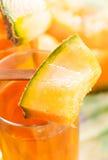 Melonfruktsaft Royaltyfria Bilder