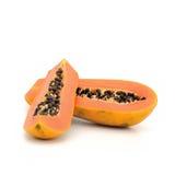 Melonowa rozdzierać odizolowywa na białym tle Zdjęcia Stock