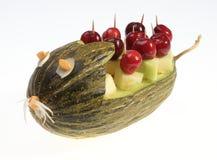 Melonowa rzeźba Obraz Royalty Free