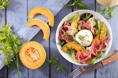 Melonowa sałatka obraz stock