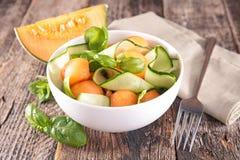 Melonowa sałatka fotografia stock