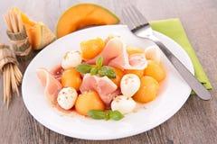 Melonowa sałatka obrazy stock