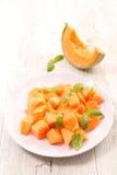 Melonowa sałatka zdjęcia stock