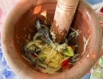 Melonowiec sałatka korzenna, korzenny, kwaśny, Zdjęcie Stock