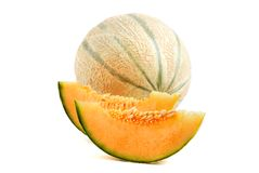 Melonowy kantalup fotografia stock