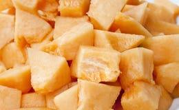 Melonowy kantalup Charentaise lub melon Zdjęcia Stock