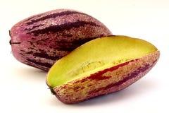 melonowy muricatum pepino solanum Fotografia Royalty Free