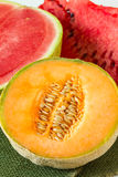 Melons, close up Royalty Free Stock Image