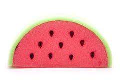 Melons sponge. On white background Stock Photo