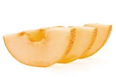 melonskivor till royaltyfri fotografi
