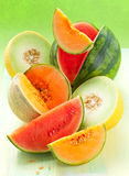 melonu arbuz Zdjęcie Stock