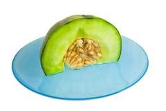 melonu talerz zdjęcia stock