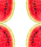 Melonu wzór odizolowywający od wierzchołka na białym tło widoku Fotografia Royalty Free