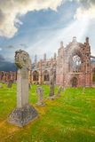 Melrose Abbey Stock Images