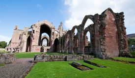 Melrose Abbey Royalty Free Stock Images